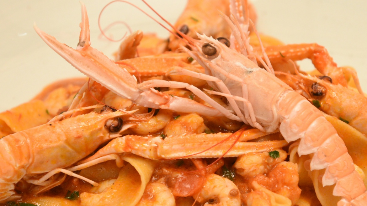 Pappardelle ai Crostacei