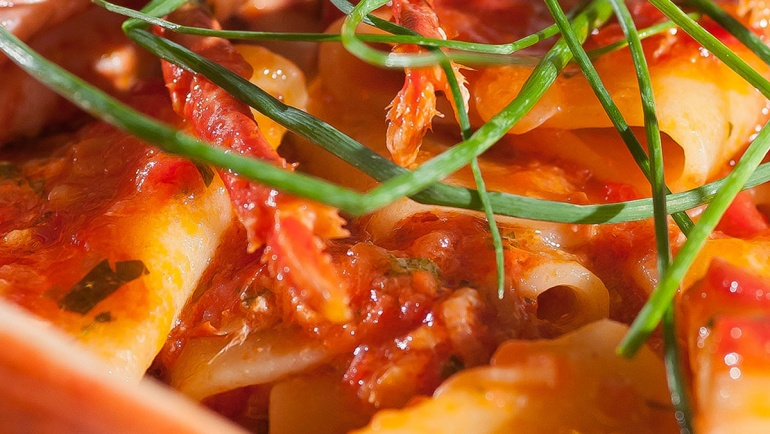 Paccheri all'Astice